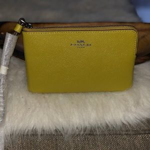 NWT Small Coach Wristlet